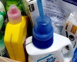 使用済み液体製品(洗剤・墨汁・インク等)