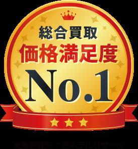 総合買取 価格満足度No.1