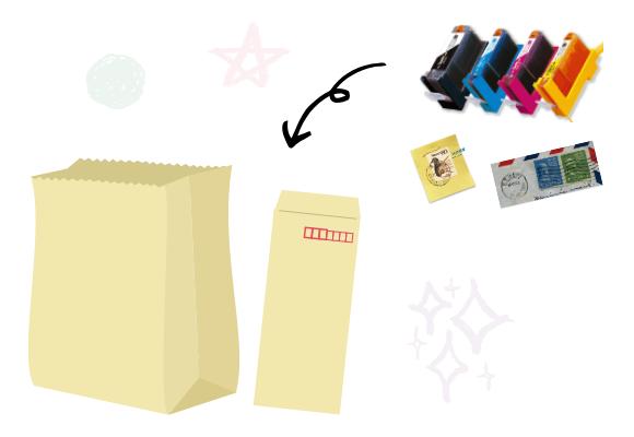 寄付品の送り方1
