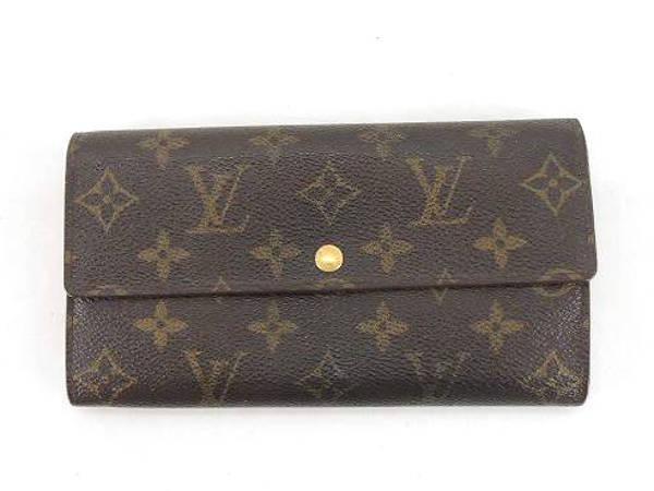 ヴィトン・モノグラム・ポルトフォイユ・サラの財布を買取 広島 廿日市宮内店