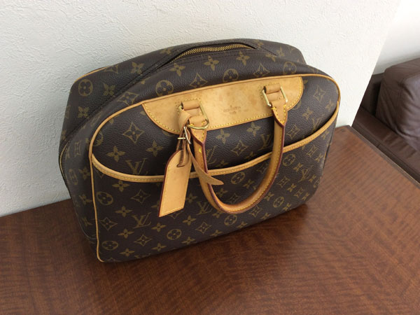 ヴィトン・モノグラム・ドーヴィルのハンドバッグを買取|梅田|蒲生店