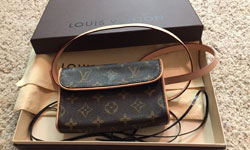 ルイ・ヴィトンの小物は使用感抜群の財布が人気