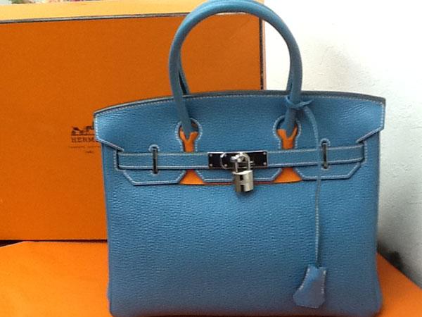 エルメス・バーキン30・トゴ・ブルージーンのハンドバッグを買取 川口 西川口店