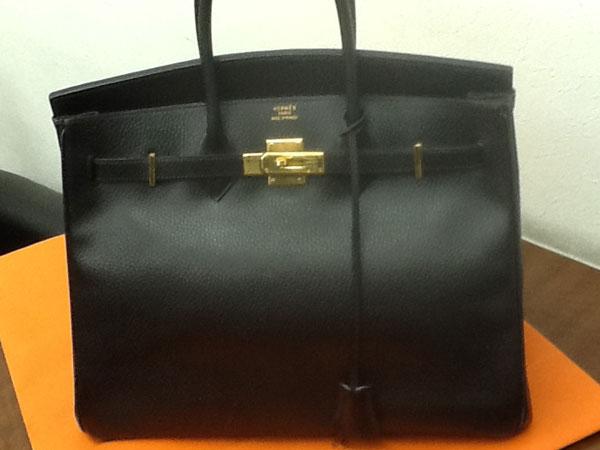 エルメス・バーキン35・アルデンヌのハンドバッグを買取 川口 西川口店