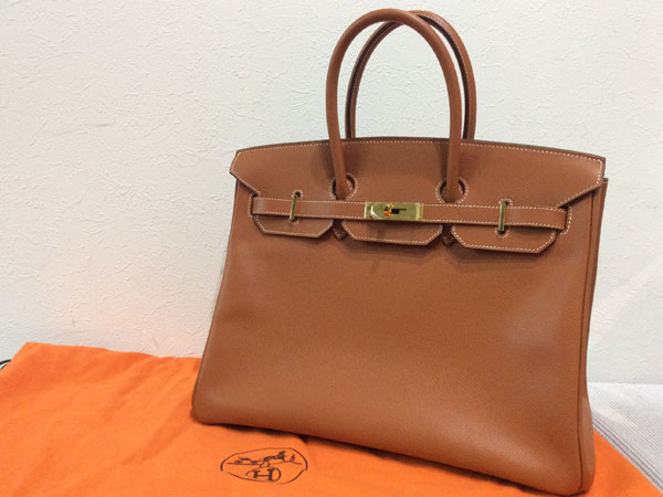 エルメス・バーキン35・ヴォーエプソンのハンドバッグを買取|難波|天王寺上本町店