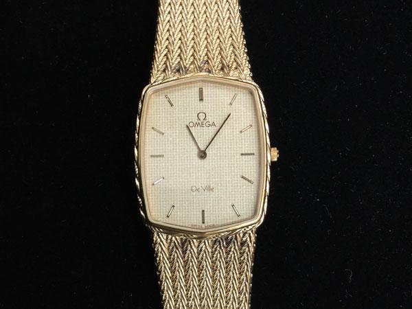 オメガ・クオーツ・デビル・メンズの腕時計を買取 広島 広島府中店