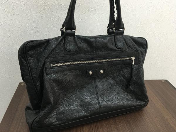 バレンシアガ・ソフトラムスキンの書類鞄を買取|横浜|横浜青葉台店