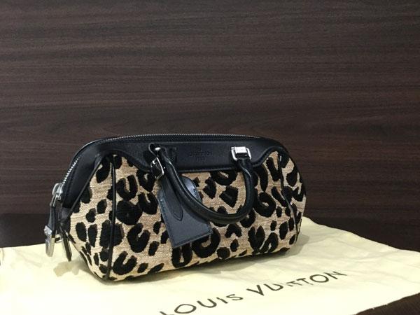ヴィトン・レオパードのハンドバッグを買取|大阪|天六店