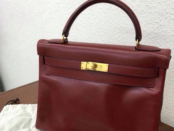 エルメス・ケリー・32cm・〇V刻印のバッグを買取 神戸 ラポルテ芦屋店