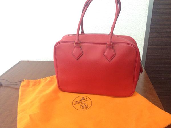 エルメス・プリュム・H刻印・エプソンのハンドバッグを買取|神戸|ラポルテ芦屋店