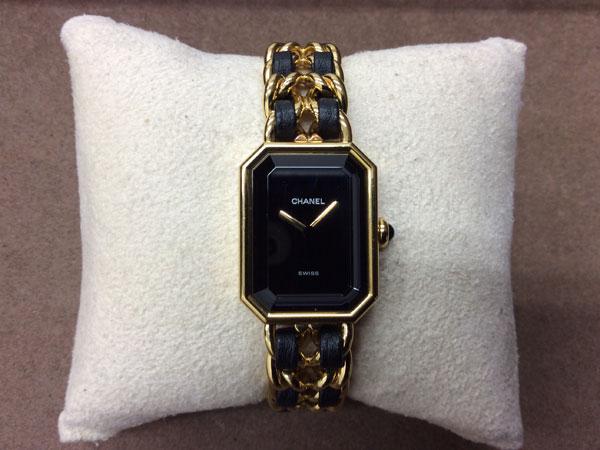 シャネル・プルミエール・Mサイズの腕時計を買取 難波 天王寺上本町店