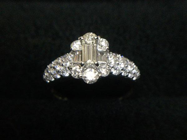 ダイヤのデザインリングを買取|神戸|大久保店