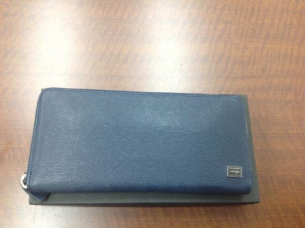 ポーター・レザーのラウンド財布を買取|神戸|住吉駅前店