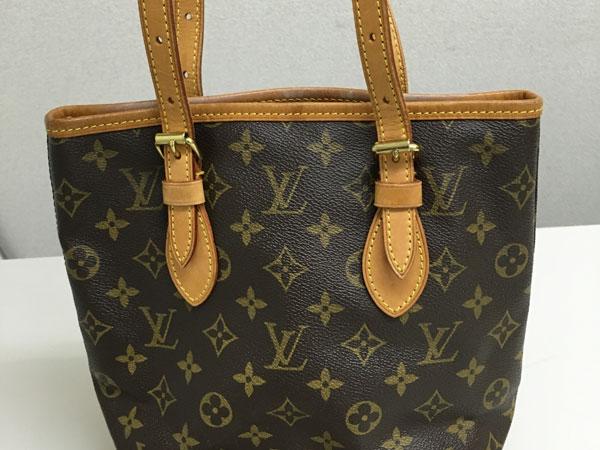 ヴィトン・モノグラム・バケットのバッグを買取 神戸 宝塚店