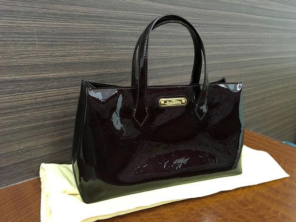 ヴィトン・ヴェルニ・ウィルシャーPMのバッグを買取|神戸|東灘店