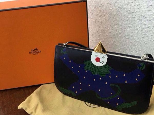 エルメス・サック・ア・マリース・ピエロのショルダーバッグを買取 神戸 ラポルテ芦屋店
