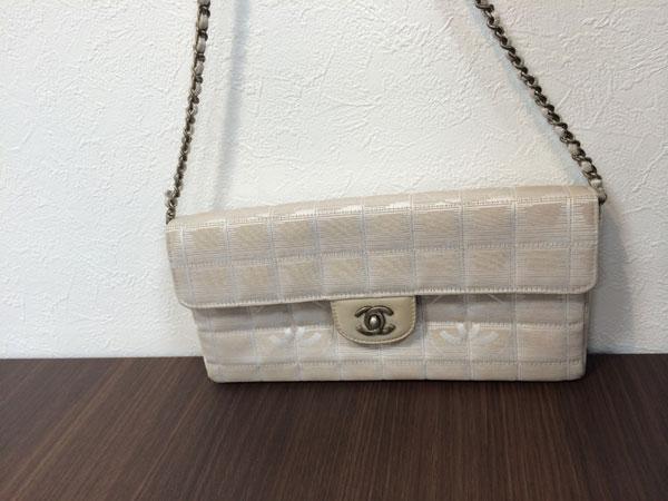 シャネル・ニュートラベルラインのチェーンショルダーバッグを買取|神戸|板宿店