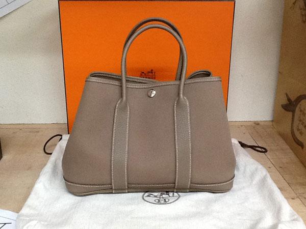 エルメス・ガーデンパーティのバッグを買取 神戸 芦屋店