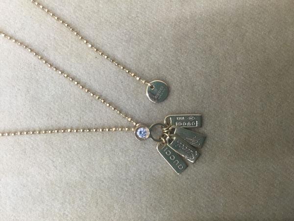 グッチ・4プレートダイヤのネックレスを買取 神戸 神戸店