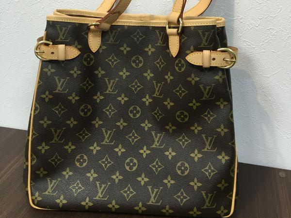 ヴィトン・モノグラム・バティニョール・ヴェルティカルのバッグを買取|神戸|板宿店
