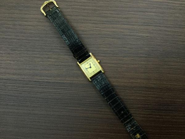 カルティエ・タンク・ヴェルメイユ・クォーツの腕時計を買取|大阪|谷町店