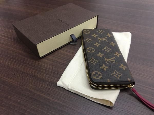 ヴィトン・モノグラム・ポルトフォイユ・クレマンスの財布を買取|さいたま|大宮西口店