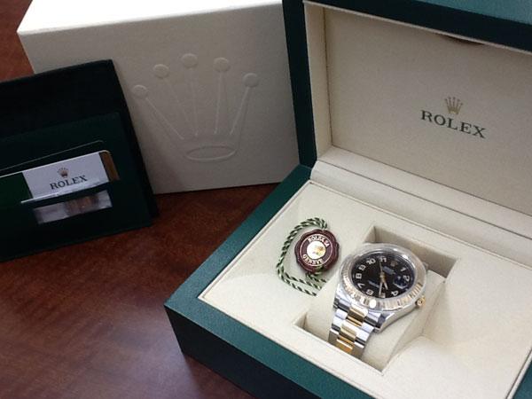 ロレックス・デイトジャストII・2C0H2726の腕時計を買取|神戸|六甲道店