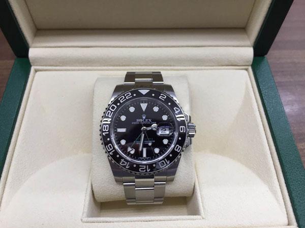 ロレックス・GMTマスター・116170LNの腕時計を買取 神戸 夙川店