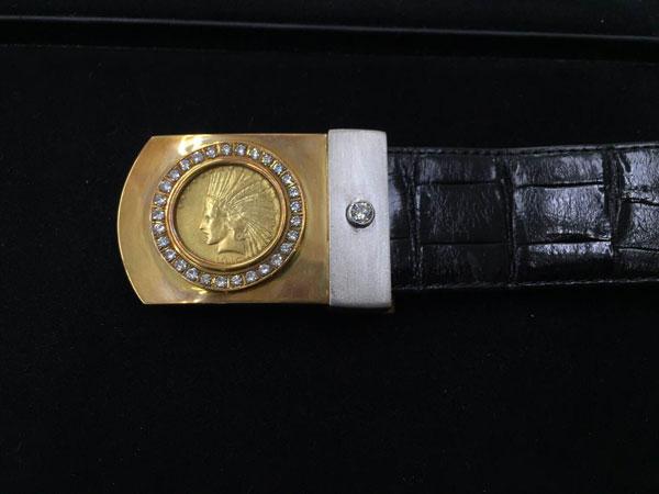 インディアンコインのダイヤベルトを買取|神戸|夙川店