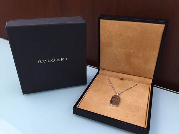 ブルガリ・パレンテシのネックレスを買取|神戸|夙川店