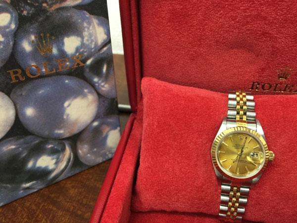 ロレックス・デイトジャスト・69173の腕時計を買取|神戸|垂水店