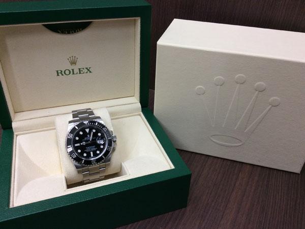 ロレックス・サブマリーナデイトの腕時計を買取|難波|天王寺上本町店
