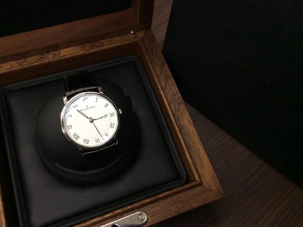 ブランパン・ヴィルレ・ウルトラスリム・3138の腕時計を買取 難波 天王寺上本町店