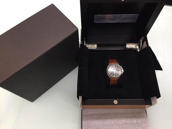 パネライ・ルミノール・マリーナの腕時計を買取 神戸 夙川店