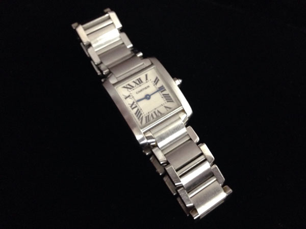 カルティエ・タンクフランセーズ・SMの腕時計を買取 神戸 東灘店