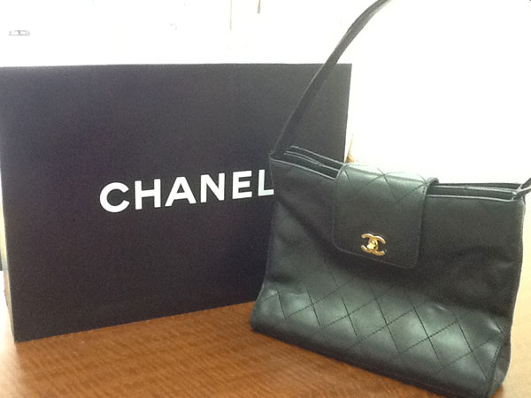 シャネル・ラムスキンのワンショルダーバッグを買取|神戸|六甲道店