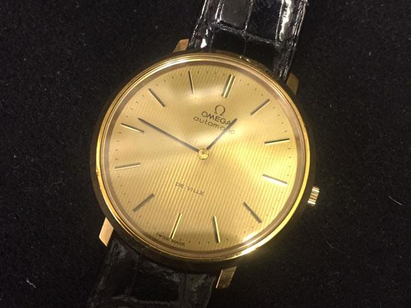 オメガ・デビル・メンズ・オートマチックの腕時計を買取|川崎|川崎溝の口店