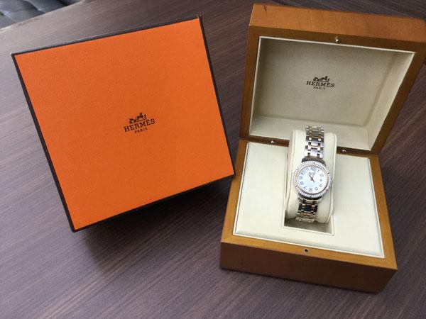 エルメス・クリッパー・CL1.322の腕時計を買取|大阪|谷町店