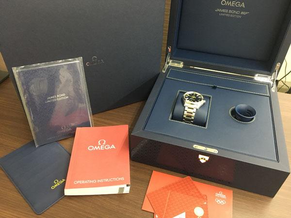 オメガ・シーマスター・アクアテラ・ジェームスボンド007の腕時計を買取|横浜|横浜青葉台店