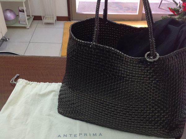 アンテプリマ・イントレッチオのバッグを買取 神戸 住吉駅前店