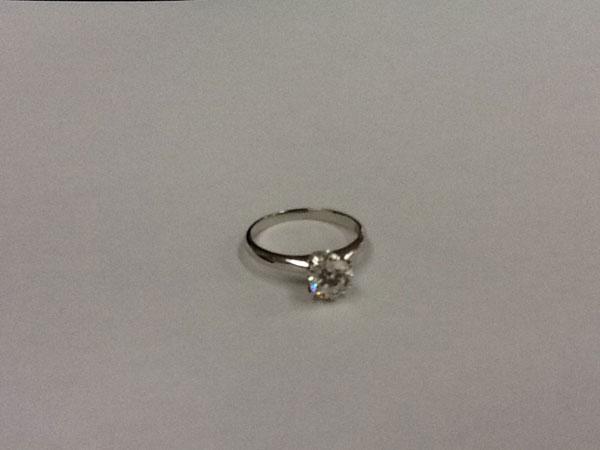 ダイヤ1.0ct相当付のリングを買取 広島 広島緑井店