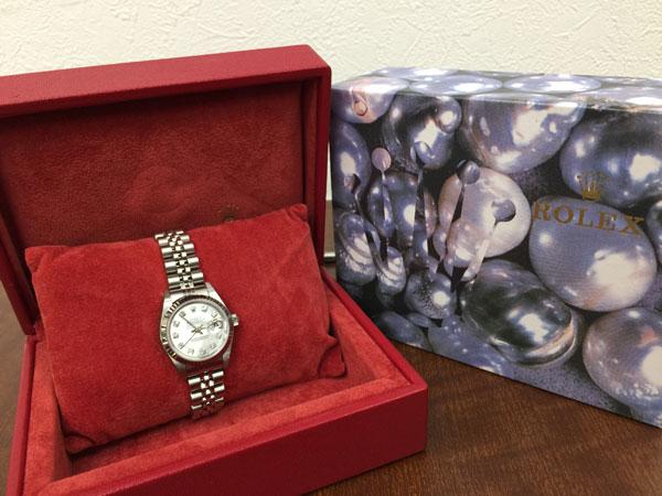 ロレックス・デイトジャスト・79174Gの腕時計を買取|神戸|垂水店