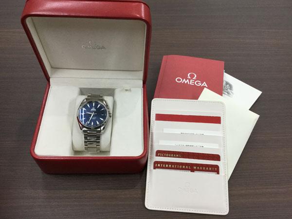 オメガ・シーマスターの腕時計を買取|姫路|東加古川店