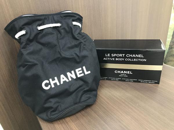シャネル・ノベルティの巾着バッグを買取|神戸|元町駅前店