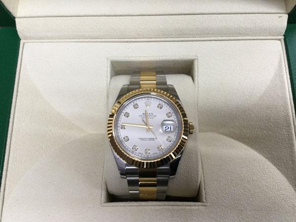 ロレックス・デイトジャストⅡ・116333Gの腕時計を買取|名古屋|名古屋徳重店