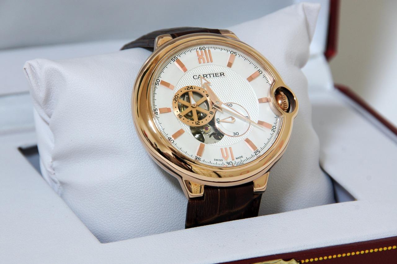 日常のお手入れ・カルティエ・腕時計1