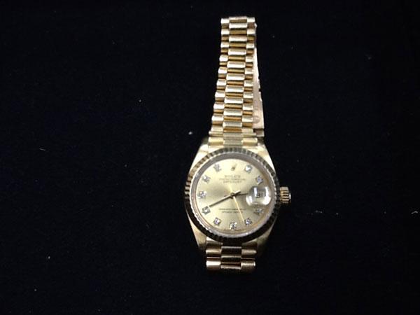 ロレックス・デイトジャスト・69178Gの腕時計を買取 広島 広島緑井店