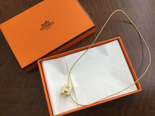 エルメス・Hロゴ・キュービックのネックレスを買取|神戸|神戸店