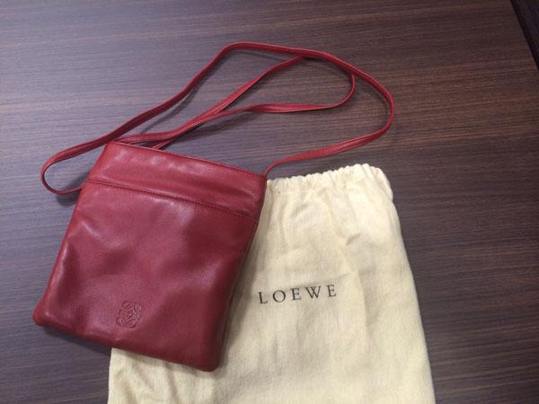 ロエベ・ナッパのショルダーバッグを買取|神戸|新長田店