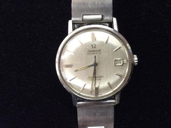 オメガ・シーマスター・デビル・Wネームの腕時計を買取 福岡 薬院店